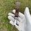 Thumbnail: $65 Custom silver keychain