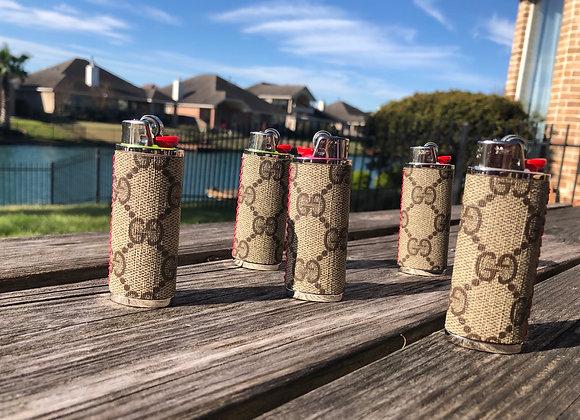Custom lighter case (classic tan gg)