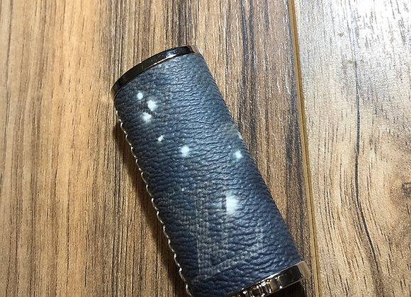 Custom lighter case made from authentic designer