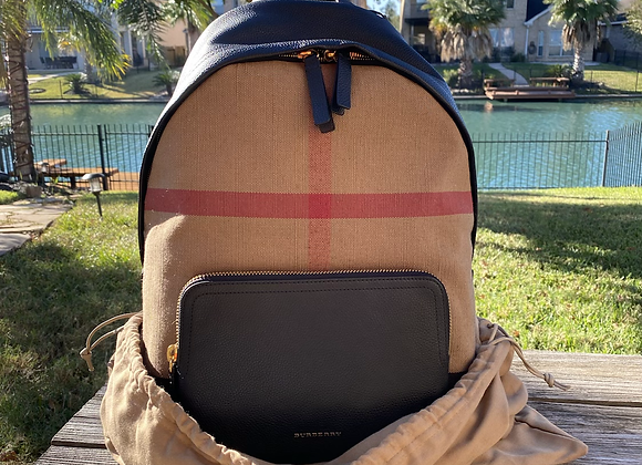 $725 Brand new Burberry backpack
