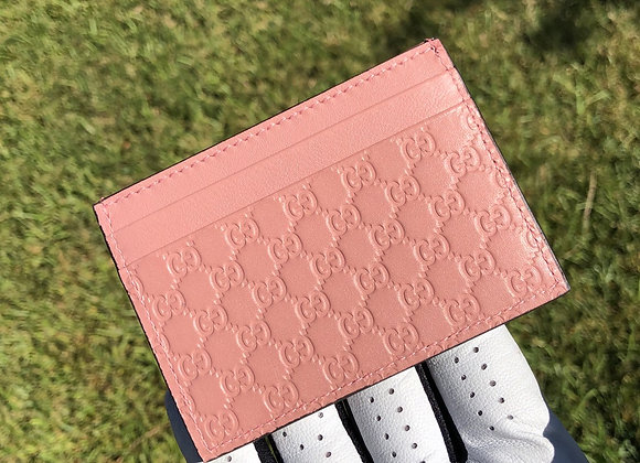 $190 Brand new authentic card case (pink)