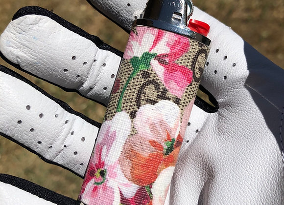 $150 Custom lighter case made from Authentic floral