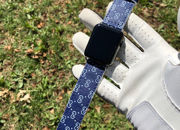 $260 vintage blue custom watchband (any watch any series)