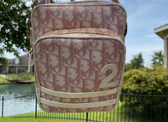 $425 preowned pink Dior shoulder bag