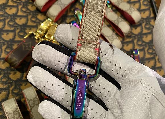$65 Custom iridescent keychain