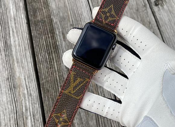 $185 Custom watchband red buckles ❌