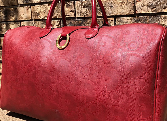 $575 Preowned vintage Dior large duffle 50