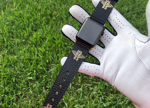 $350 Custom leather watchband made from Authentic Gucci 🐝