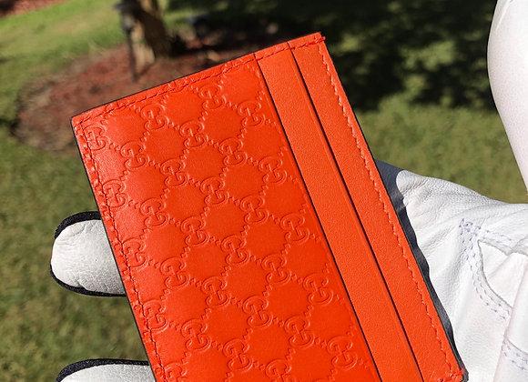 $190 Brand new authentic card case (tangerine)