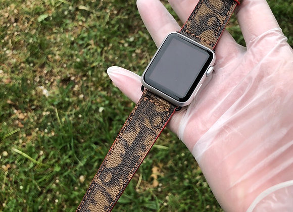 Custom watchband made from Authentic Dior 1of1