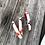 Thumbnail: $135 custom bracelet red edging