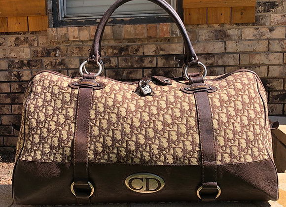 $1150 Authentic preowned Dior XL 60 duffle