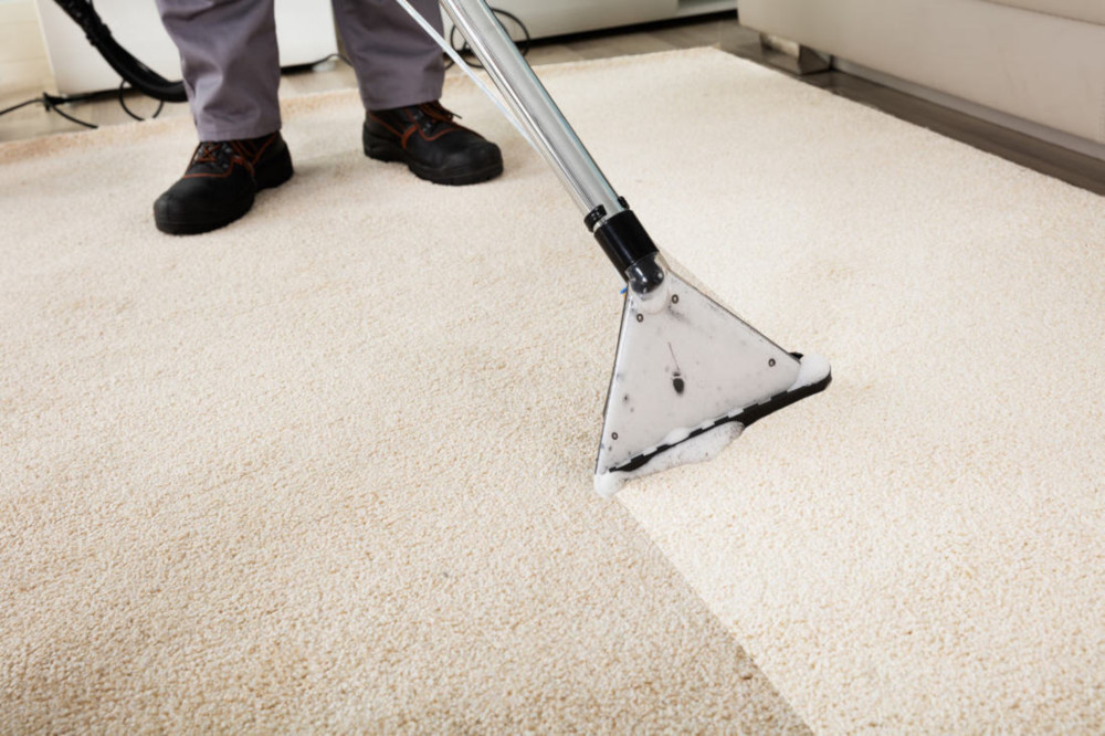 Carpet extraction cleaning