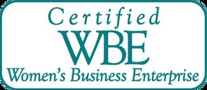 Certified WBE logo