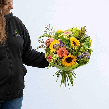 Blumenfeldstrauss nachhaltig bunt Gr. L