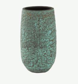 Evi Pot Antiq Bronze - D 17cm, H 30cm