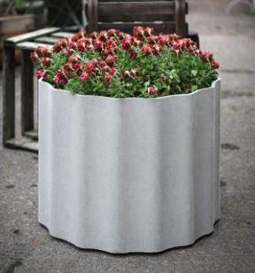 Eternit Kolonna - 60x60cm, grey