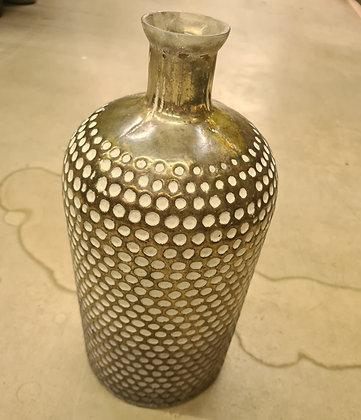 Vase Rusa weiss gold