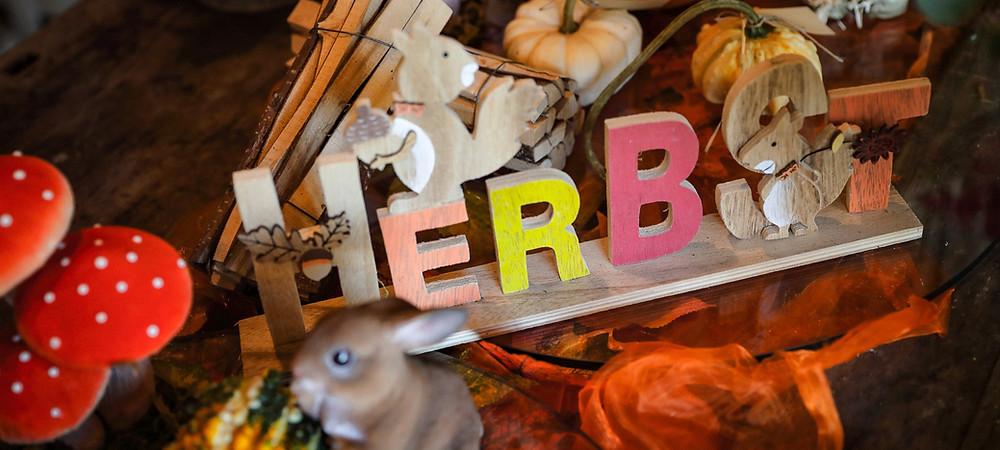 Sammeln, Herbst, bunte Blätter, Herbstzeit, Gehölze, Stauden, Kürbis, Marroni, Äpfel, Waldrand, Wohnzimmer