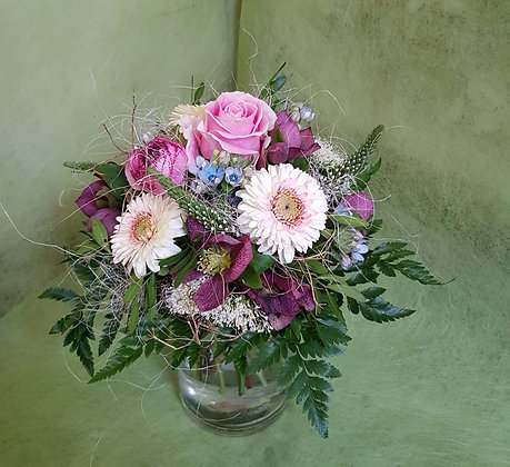 Blumenstrauss rosaton