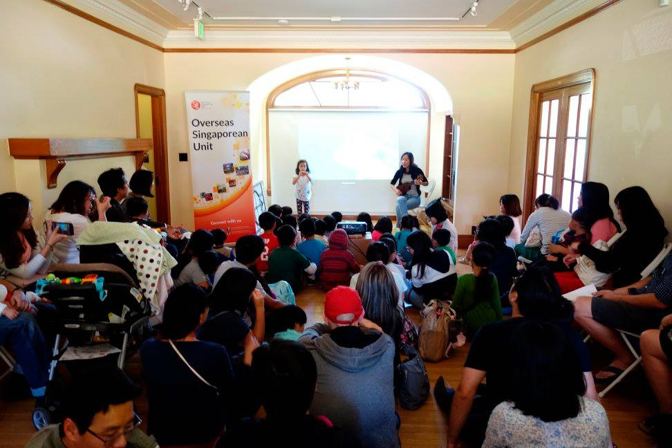The Jamison-Brown House in Santa Clara has never seen such a big crowd of Singaporeans!