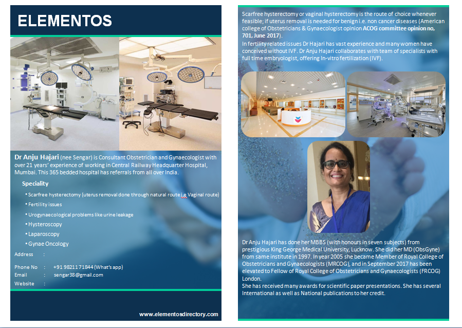 Dr  Anju Hajari | Obstetrician-Gynecologist | Mumbai
