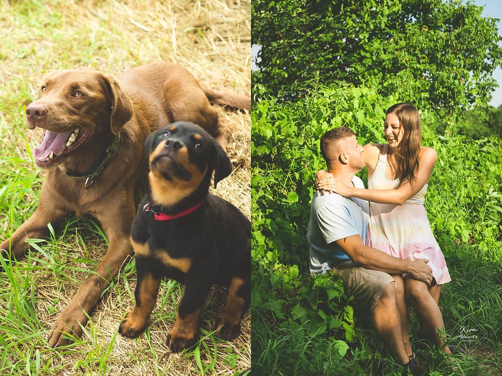 wisconsin lifestyle couple engagement photographer