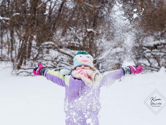 Snow Day! | Family Portraits | Lodi, WI