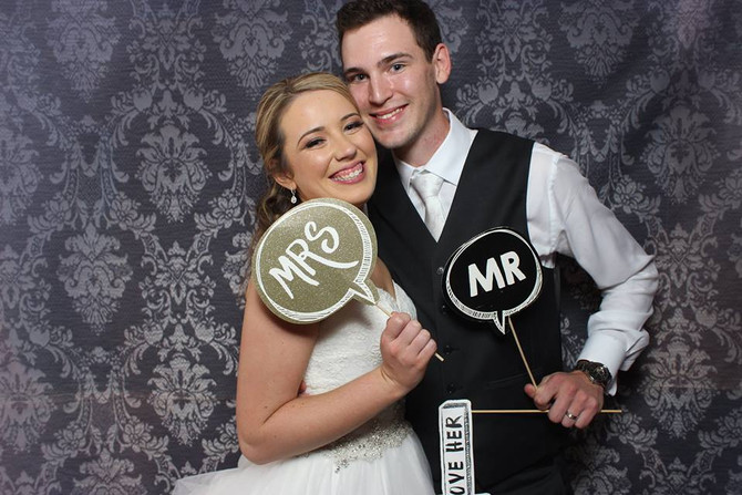 Give your celebration a personal touch with DIY photo booth props