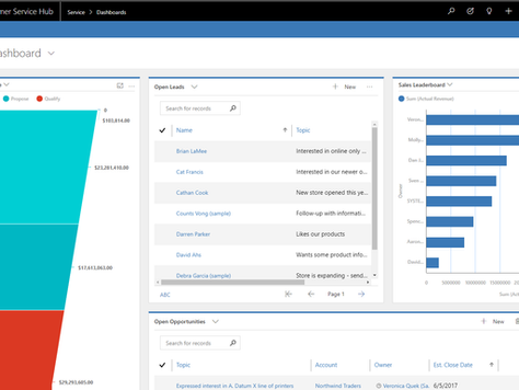 New Unified Interface for Dynamics 365