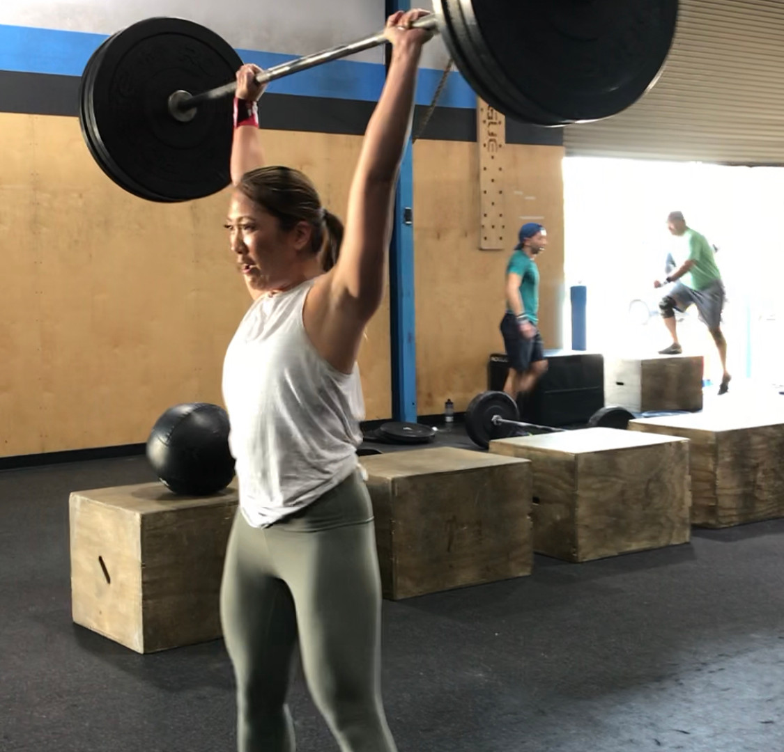 KRISTI - 37, OLY lifter, Nutrition client, Virtual Training