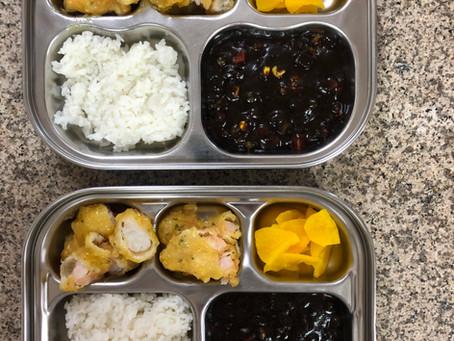 짜장밥과 레몬새우 (2020.10.31)