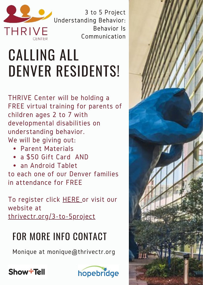 April Calling All Denver Residents 3 to