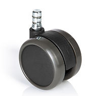 Chair casters, ROLOS GM 10 mm  65 mm - S