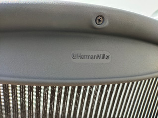 Herman miller aeron executive chrome alu