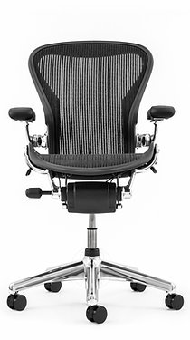 Herman Miller Aeron Aluminum Medium/B Refurbished - Fully loaded