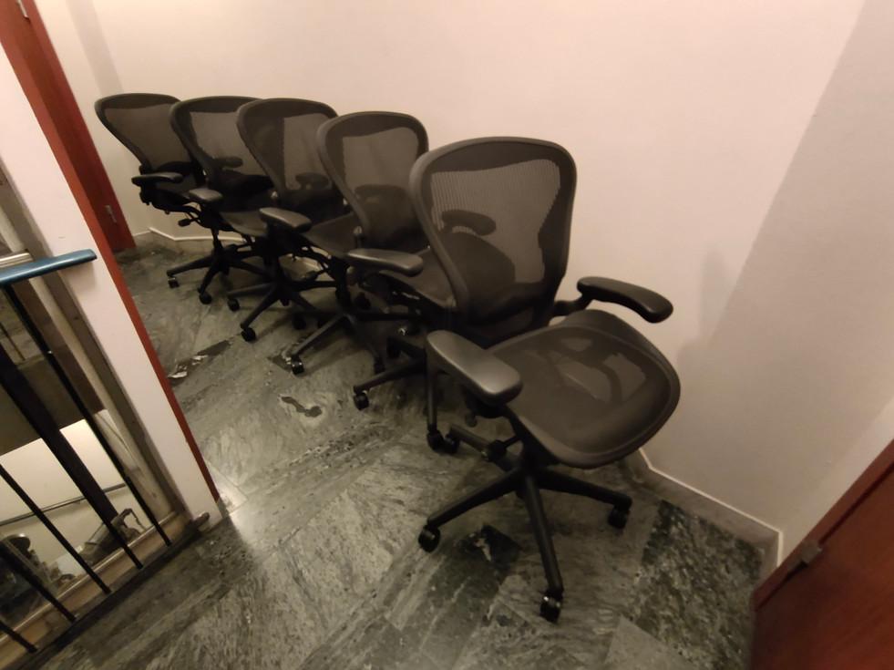 Herman Miller Aeron refurbished chairs (