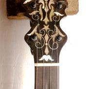 SS Stewart Banjo Inlay
