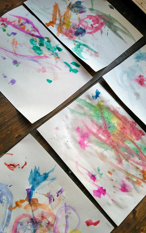 Children's paintings