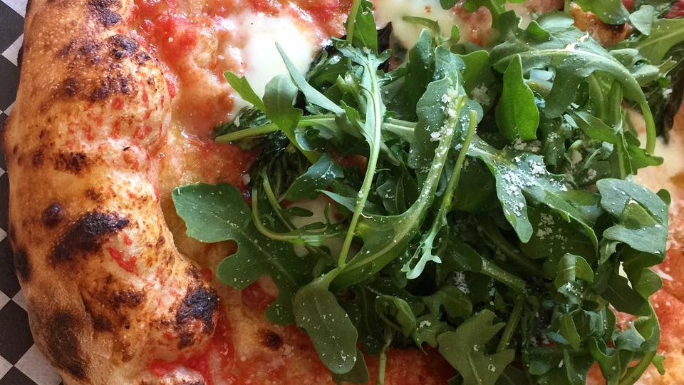 Margherita + Arugula (order in person only)