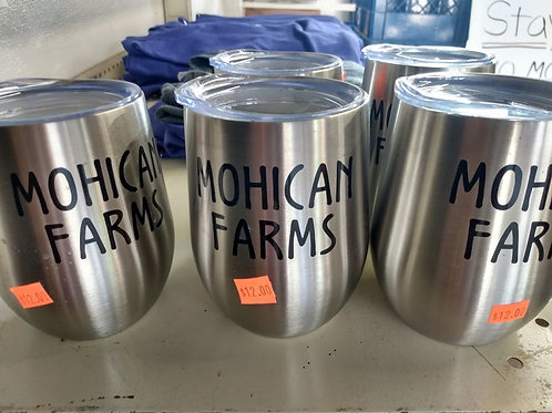 Mohican Farms Wine Tumbler