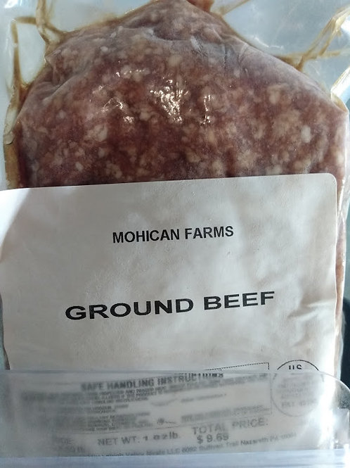 Mohican Farm Ground Beef