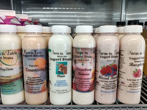 Farm to Table Yogurt Shake
