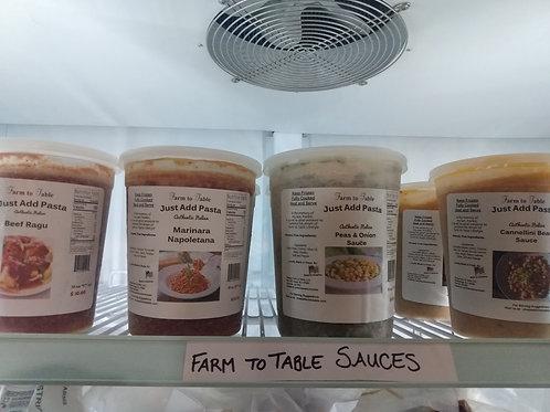 Farm to Table Pasta Sause