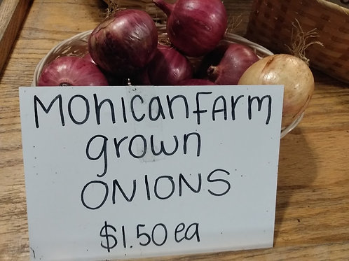 Mohican Farms Onions