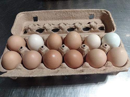 Mohican Farm Jumbo Eggs per 1/2 Dozen