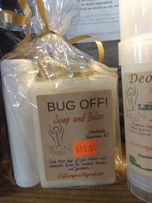 KGN Organic Products Bug Off Soap & Balm