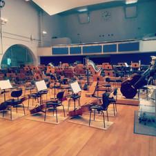 Probe mit den Stuttgarter Philharmonikern 2017