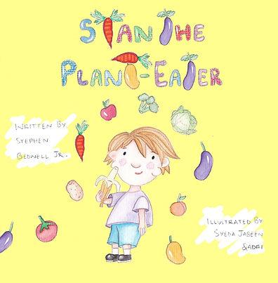 Children's Vegan Book, Stan the Plant-eater