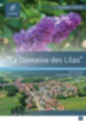Plaquette commerciale Le Domaine des Lil